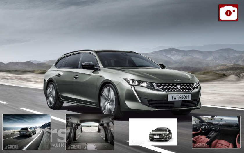 Stylish New Peugeot 508 Sw Estate Joins The 508 Fastback Cars Uk