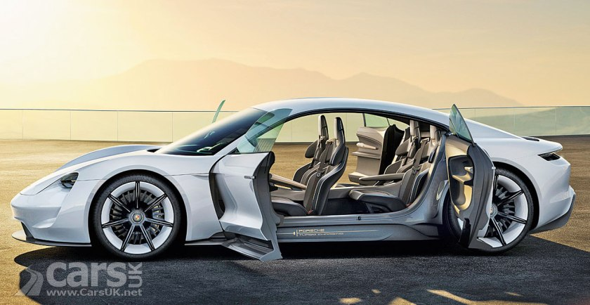 It S The Porsche Taycan Porsche Gives The Mission E A