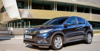 2018 Honda HR-V Facelift REVEALED: Cosmetic updates and more technology