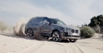 BMW X7 on video trying to prove it will be the MATCH of the Range Rover
