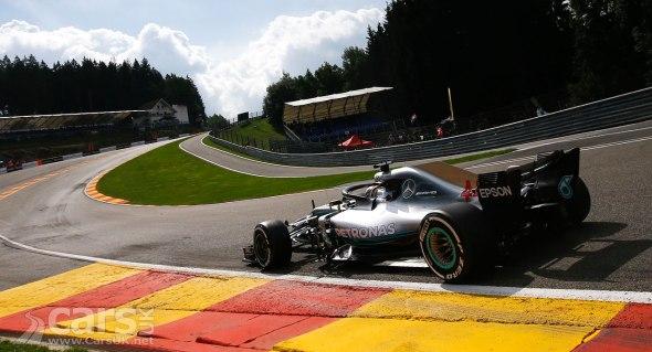 Lewis Hamilton takes pole at the 2018 Belgian Grand Prix
