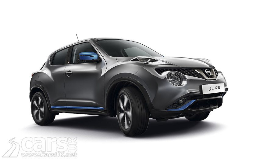updated nissan juke goes on sale in the uk - all-new juke due in