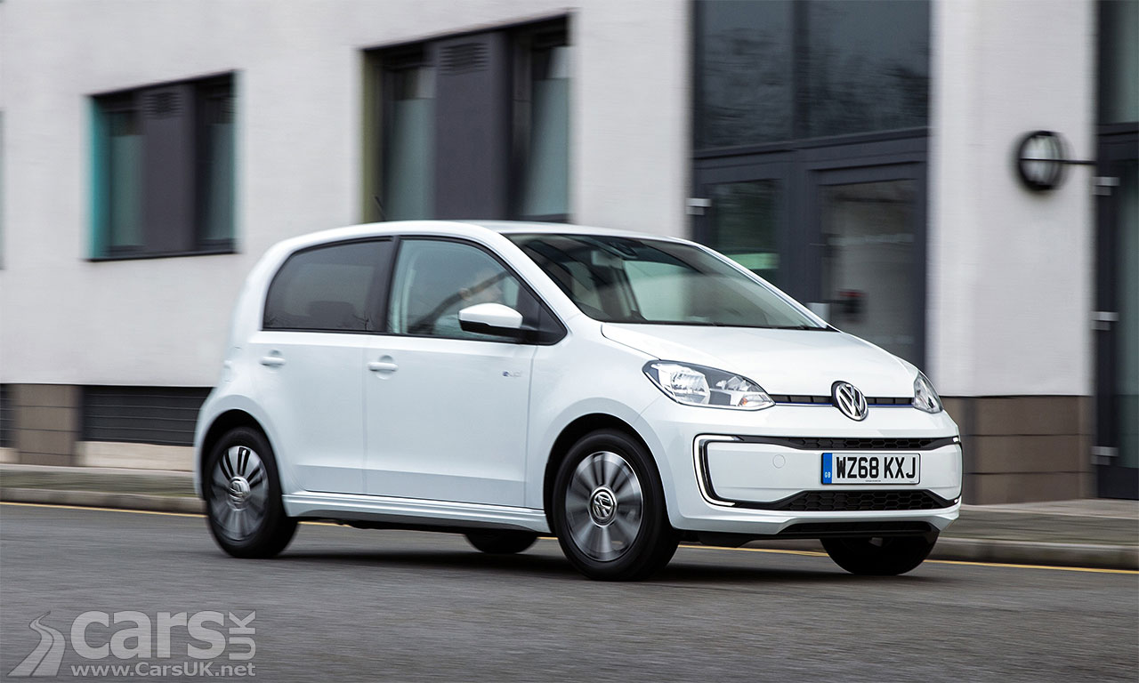 Electric Volkswagen E-Up! Gets A Price CUT