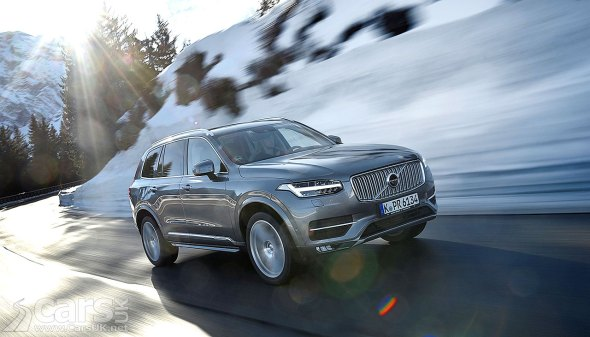 Volvo deliver their Top 5 Winter Driving Tips