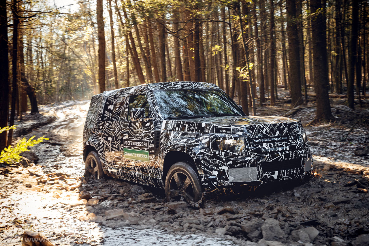 New Land Rover Defender Coming to U.S. in 2020