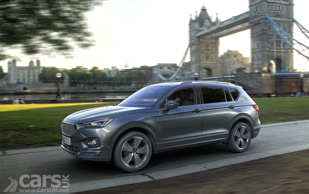 new seat tarraco uk prices and specs announced cars uk. Black Bedroom Furniture Sets. Home Design Ideas