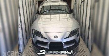 New Toyota Supra LEAKS ahead of Detroit debut