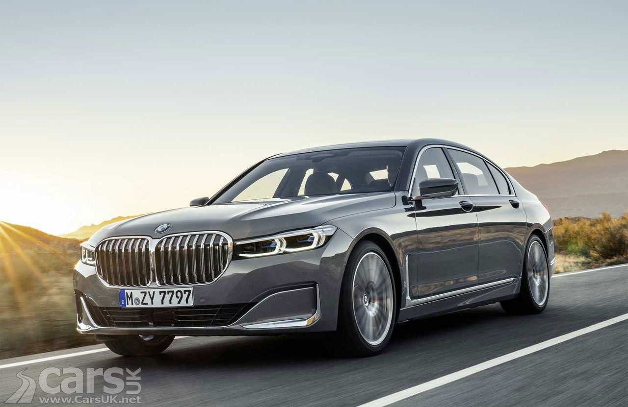 2019 bmw 7 series facelift arrives and it 39 s got a very. Black Bedroom Furniture Sets. Home Design Ideas