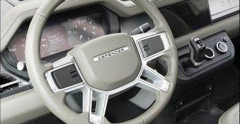 New Land Rover Defender Interior?