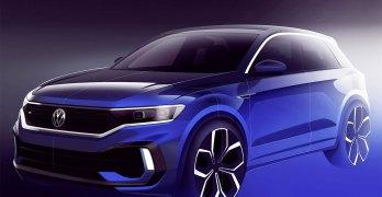 Volkswagen T-Roc R tease continues