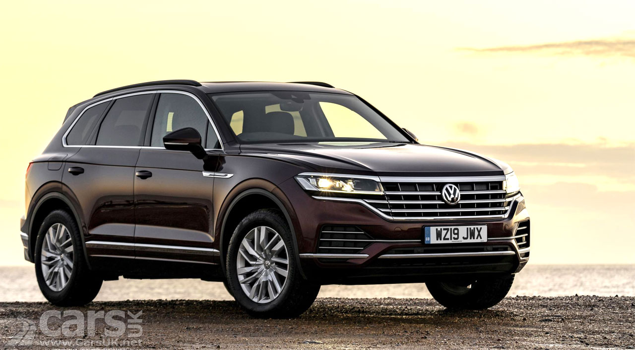 New Volkswagen Touareg SUV - now with V6 PETROL power in the UK | Cars UK