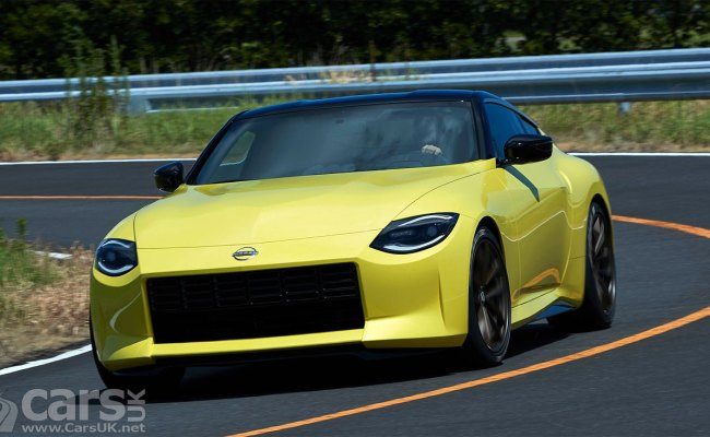 New Nissan 400z Previewed By Nissan Z Proto But The Uk