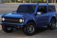 Ford Bronco  Spy Shots