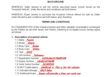 Vehicle Bill Of Sale Printable Carsut Understand