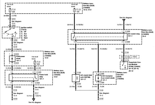 small resolution of 2000 ford taurus factory radio wiring diagram