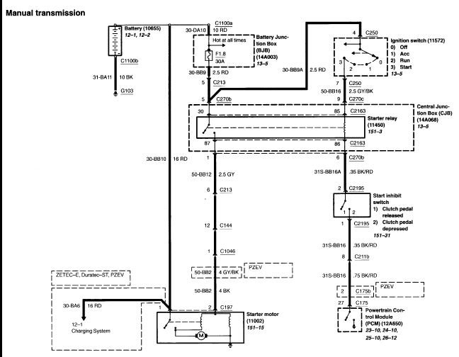 Ford Focus Instrument Wiring Diagram Pdf Wiring Automotive