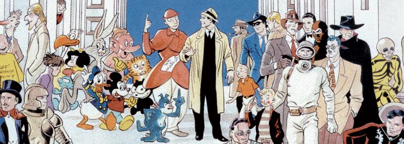 """""""20 anni di Scuola Romana dei Fumetti: gli Autori in mostra"""""""