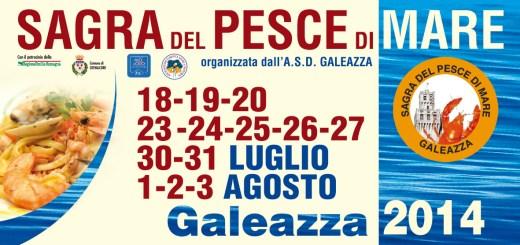 GALEAZZA 2014 - Manifesto 150x75.indd