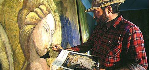 Gino Pellegrini in uno scatto di Luciano Bovina
