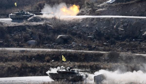 Norte-coreanos se sentem provocados por manobras militares dos EUA e Coreia do Sul. Foto:Yonhap/ AFP