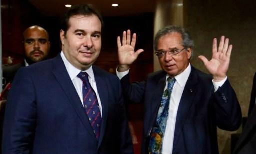 """Maia critica plano de Guedes para conter crise: """"Não tem quase ..."""