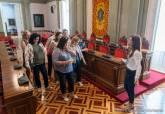 Visita Asociación de Mujeres Crear-T al Palacio Consistorial