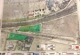 Plano de los terrenos expropiados para la llegada del AVE a Cartagena