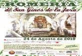 Cartel de la Romería de San Ginés 2019