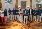 Recepción a la tripulación de El Carmen, campeona de la Copa del Rey de Vela 2019