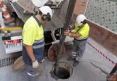 Brigadas de limpieza en acondicionamiento y mantenimiento de alcantarillado