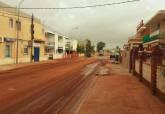 Servicios municipales reparan en la zona litoral los efectos de las lluvias