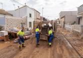Limpieza operarios y vecinos calles