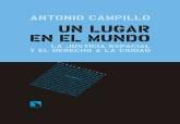 Antonio Campillo. Un lugar en el mundo