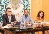 Reunión del plenario del Consejo de Cultura del Ayuntamiento de Cartagena