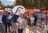 Lectura Manifiesto Día Internacional de la Erradicación de la Pobreza en la Asamblea Regional