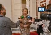 Declaraciones de María Casajús tras la Junta de Gobierno Local