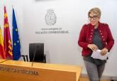 Comparecencia de Noelia Arroyo respondiendo a las acusaciones de MC Cartagena