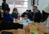 Belén navideño de Mayores con alumnos del ISEN