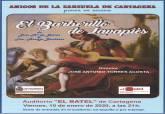 Cartel de la zarzuela El barberillo de Lavapiés