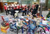 Final de la campaña municipal de recogida de juguetes
