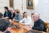 Reunión del Gobierno municipal con los representantes sindicales