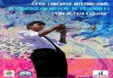 Cartel del XXVIII Concurso Internacional de pasodobles Villa de Pozo Estrecho