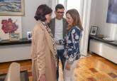 Reunión de la alcaldesa con representantes de la Asociación Cultural Paco Martín