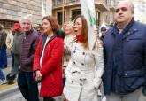 Manifestación de los agricultores en Murcia
