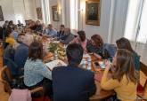 Reunión de la mesa general de negociación presidida por la alcaldesa