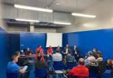 Reunión celebrada con la Concejalía de Deportes, clubes y personal técnico de la prueba