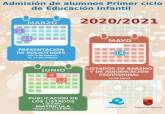 Proceso de admisión de alumnos del curso 2020/2021