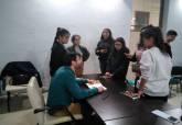 David Lozano encuentro con jóvenes de centros interculturales
