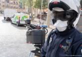 Controles de Policía Local para la contención del coronavirus