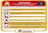 Consejos bomberos prevención aislamiento coronavirus